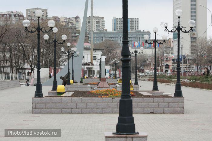 Фотографии Владивостока. Вид корабальной набережной.
